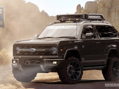 El nuevo Ford Bronco va cobrando vida en Australia