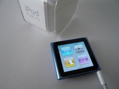 Así es el nuevo iPod nano: La tecnología multitáctil le gana una batalla a la clickwheel