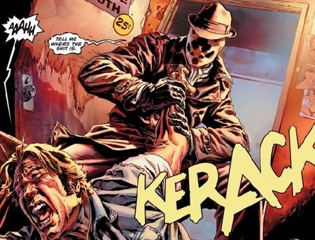 Antes Watchmen Rorschach
