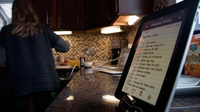 Comida e Internet: Dispositivos móviles