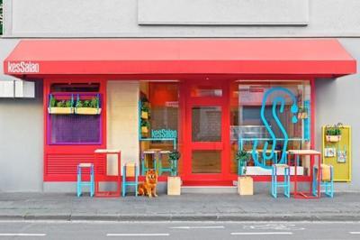 KesSalao, el restaurante mediterráneo en Alemania más alegre y colorista