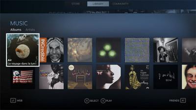 La distribución de música, series y películas podría estar más cerca de la plataforma Steam