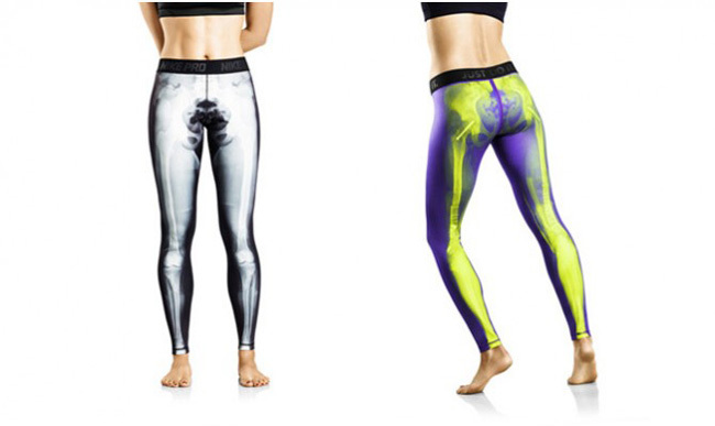 mallas esqueleto Nike