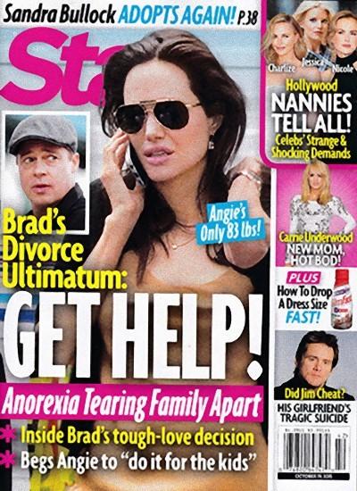 Otra vez el divorcio de Angelina y Brad
