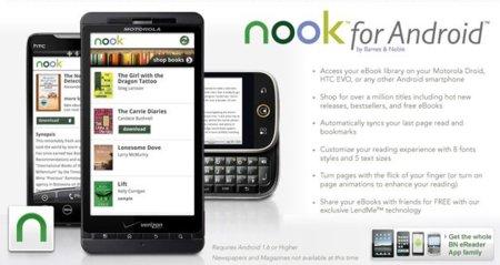 Nook para Android, la batalla de los eBooks llega a los móviles