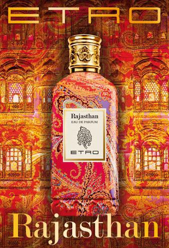 """En ruta hacia la India con """"Rajasthan"""", el nuevo perfume de Etro"""