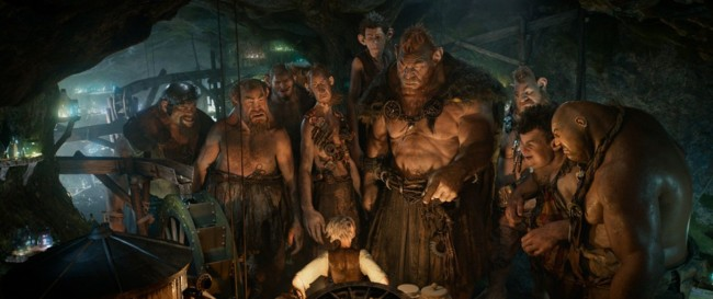 Los gigantes de la película
