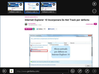 Yahoo! va a ignorar Do Not Track si el navegador es Internet Explorer 10