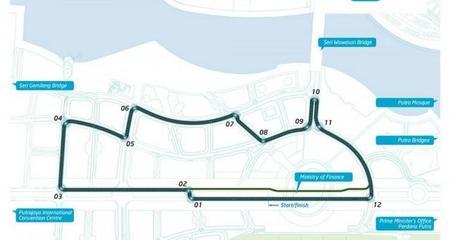 Ya se conoce el trazado de la segunda carrera de la Fórmula E, la de Malasia