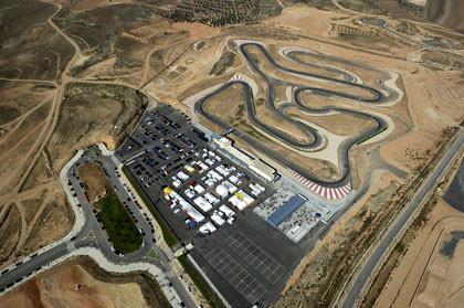 Presentado el futuro circuito de la Ciudad del Motor de Aragón