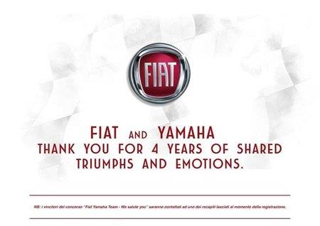 Fiat se despide como patrocinador de Yamaha