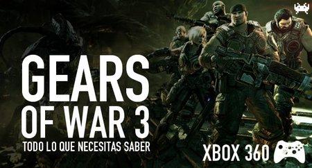 'Gears of War 3', todo lo que necesitas saber