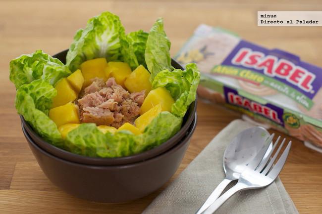 Ensalada de atún Isabel y mango - 1