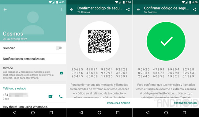 WhatsApp for Android activates the encryption end to end ...