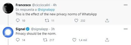 Hilo Signal Privacidad