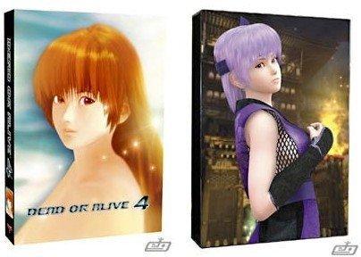 Dead or Alive 4: portadas picantes
