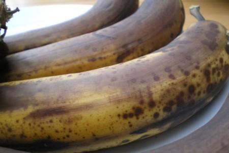 ¿Podemos conseguir que un plátano negro vuelva a ser amarillo?