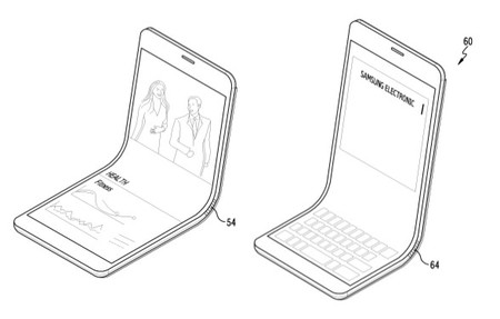 Samsung Curved Phone Patent