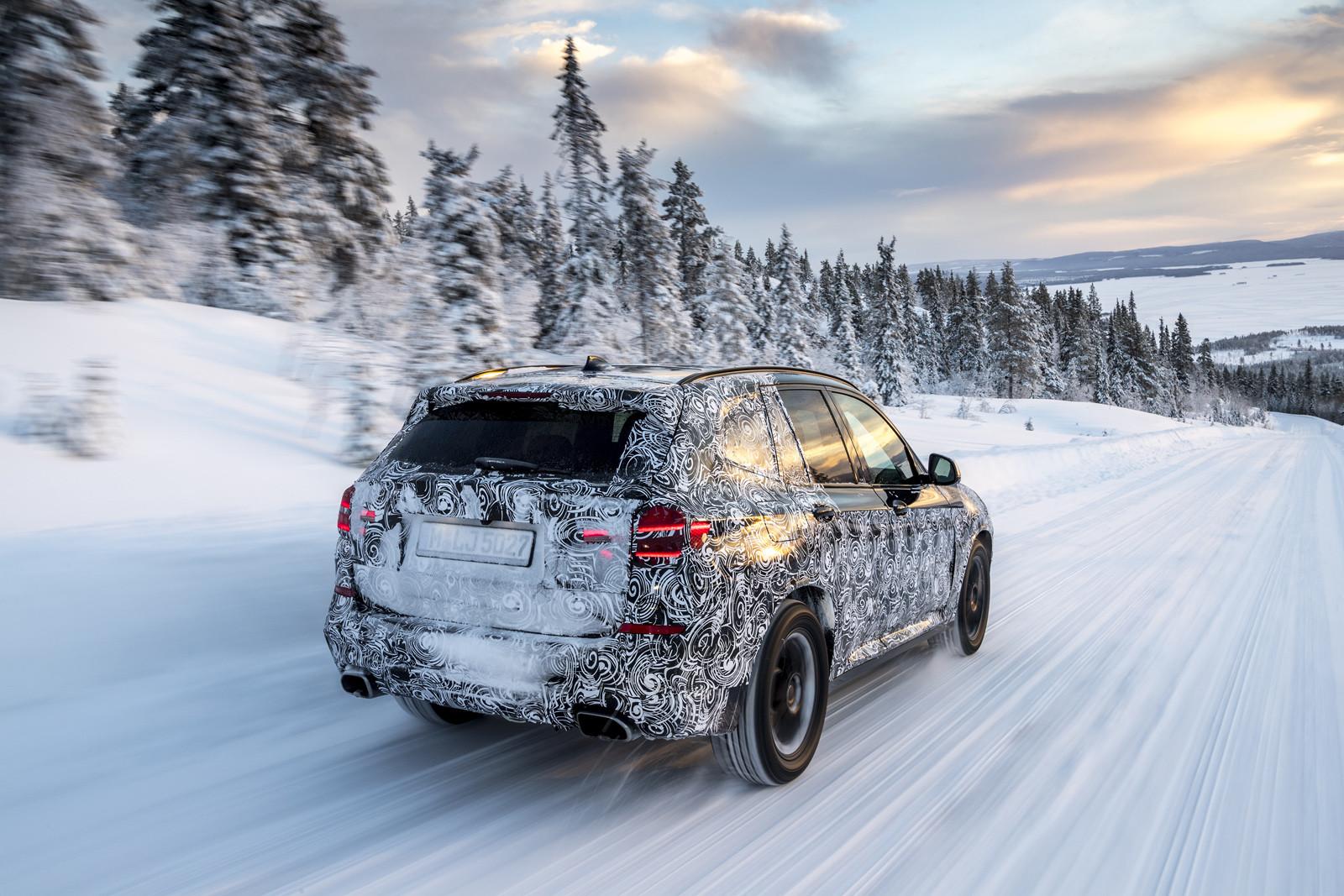 Foto de BMW X3 2018 camuflaje (2/16)