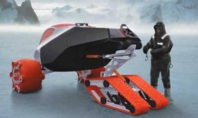 Un vehículo para la Antártida