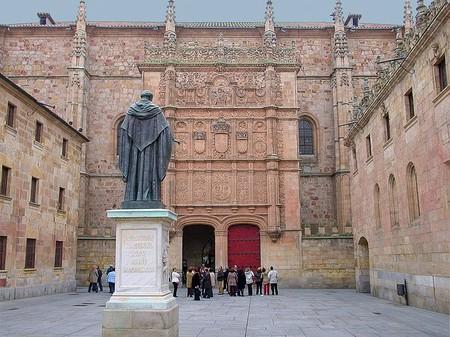 1199px Fachada De La Universidad De Salamanca