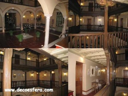 vista general hotel Sacristía Decoesfera