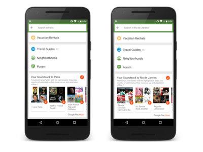 TripAdvisor agrega integración con Play Music en su última actualización