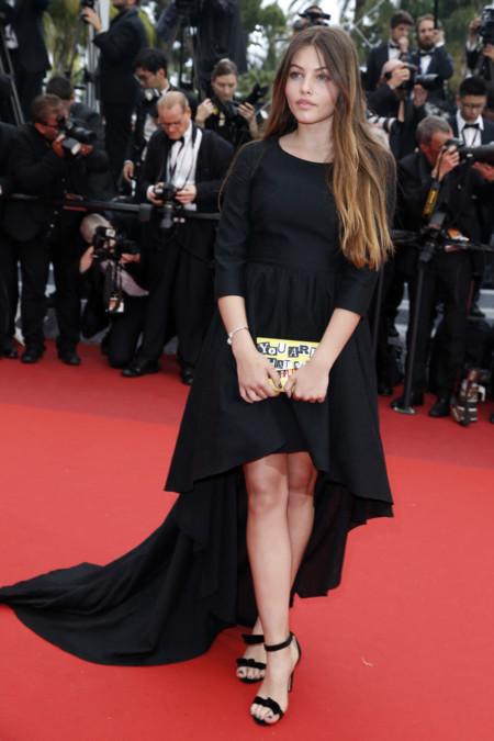 Thylane Rose Blondeau Modelo Adolescente Alfombra Roja Festival Cannes 2016 2