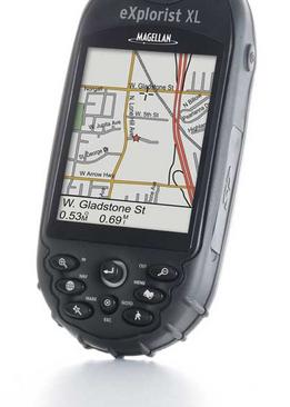Magellan eXplorist XL, GPS de mano