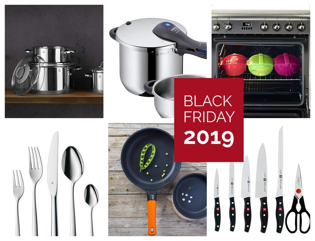 Black Friday 2019: baterías, utensilios y menaje de cocina