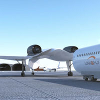 Esta fusión de un tren y un avión plantea una posible evolución de los aviones tal cual los conocemos