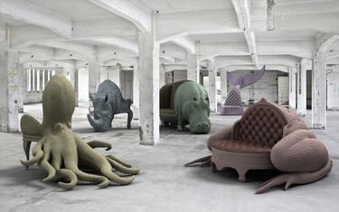 Los impresionantes sillones animalescos de Máximo Riera