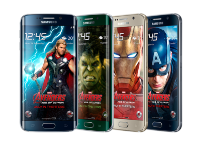 Superhéroes y James Bond, los temas preferidos para las ediciones especiales de los smartphones