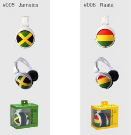 Auriculares para escuchar reggae
