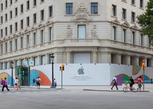 apple store barcelona paseo de gracia tienda