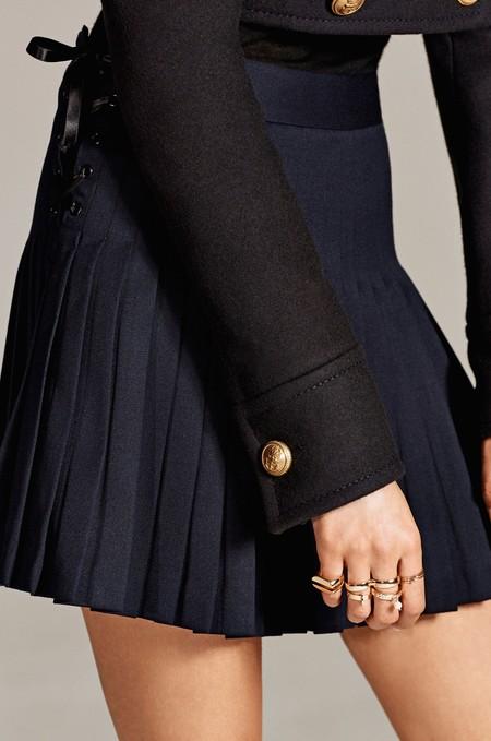 Minifalda Plisada Zara Studio