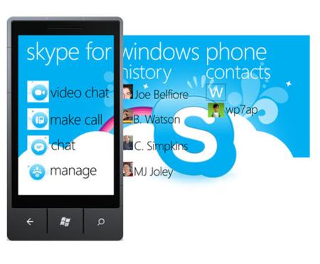 Nokia Lumia Skype