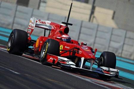 Fernando Alonso, el más rápido con los nuevos neumáticos Pirelli