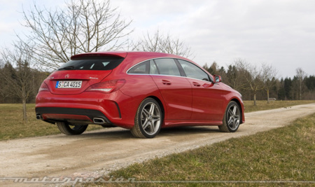 Mercedes-Benz CLA Shooting Brake, toma de contacto