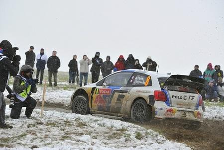 Rallye Monte-Carlo 2013: Sébastien Ogier da el primer golpe, pero Sébastien Loeb se lo devuelve