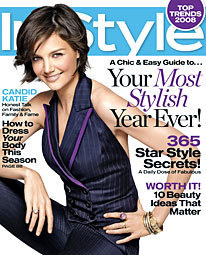 Foto de 3 portadas iguales de In Style (3/3)