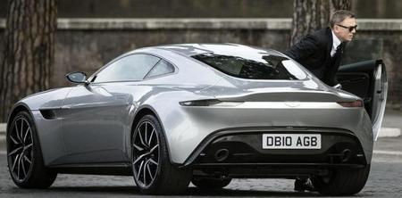 Aston Martin DB10, James Bond y un rodaje en Roma