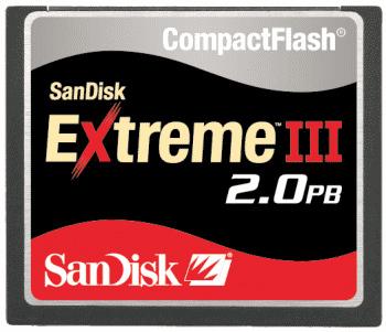 La especificación 5.0 de las CompactFlash permite varios PetaBytes de capacidad