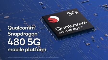 Nuevo Qualcomm Snapdragon 480: 5G, WiFi 6 y pantallas de 120Hz para móviles económicos