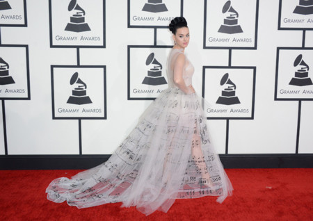 Katy Perry vestido Grammy 2014