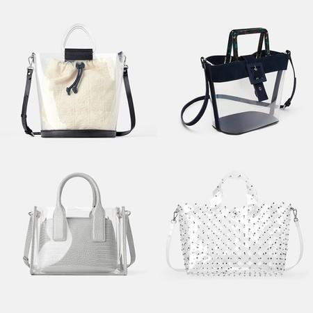 Bolso Transparente Zara