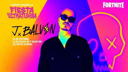 J Balvin en 'Fortnite': el evento de Halloween de este año incluye un concierto de reggaeton dentro del juego