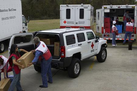 Hummer para la Cruz Roja de EEUU