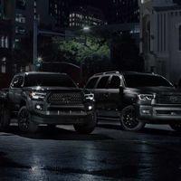 Toyota Tacoma,Tundra y Sequoia Nightshade Edition, el deseo se tiñe de oscuro
