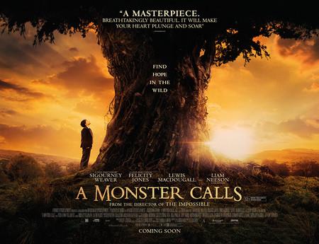 Taquilla española | 'Un monstruo viene a verme' fue la película más vista en 2016, un buen año para los cines